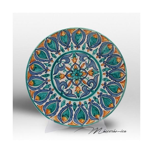 Plato de cer mica rabe isam - Platos de ceramica ...