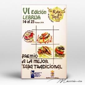 "Placa Cerámica ""Premios Ruta"""