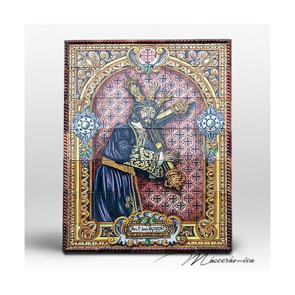 Mural cer mico ntro padre jes s nazareno cer mica - Murales de ceramica artistica ...
