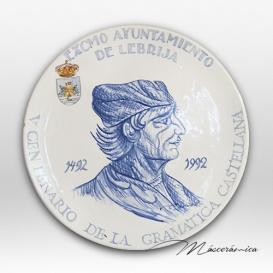 """Plato de cerámica """"Elio Antonio"""""""