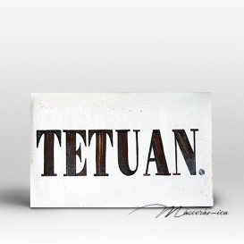 "Rótulo Cerámico "" Tetuán """