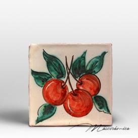 "Azulejo Rústico "" Cerezas """