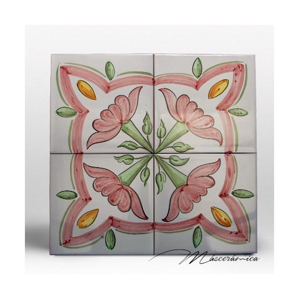 Z calo de cer mica artesanal magnolia cer mica for Zocalos de ceramica