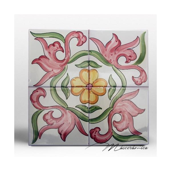 Z calo de cer mica artesanal gardenia cer mica for Zocalos de ceramica