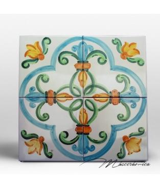 Z calo de cer mica artesanal aralia cer mica art stica for Zocalos de ceramica