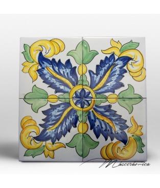 Z calo de cer mica artesanal agave cer mica art stica for Zocalos de ceramica