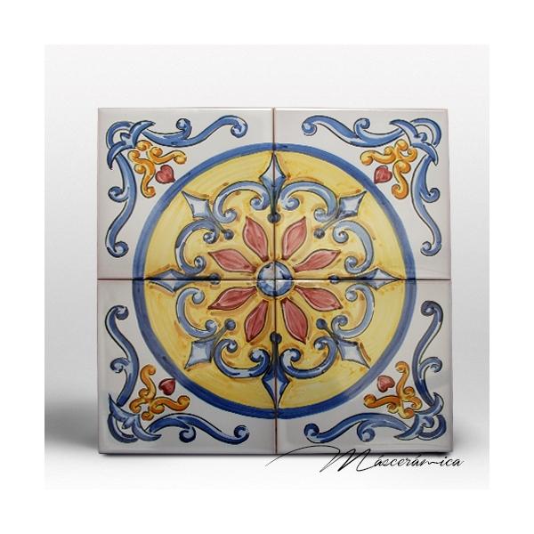 Z calo de cer mica artesanal ver nica cer mica for Zocalos de ceramica