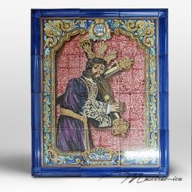 """Mural Cerámico """" Jesús de la Humildad """""""