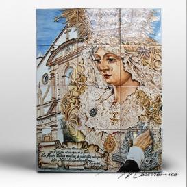 """Mural Cerámico """" Nrta. Sra. de la Victoria """""""