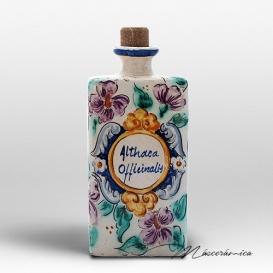Botellita de Cerámica Floral Ioras
