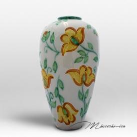 Florero Largo de cerámica Floral Margarita