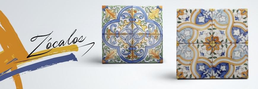 Z calos de cer mica cer mica art stica online for Zocalos de ceramica
