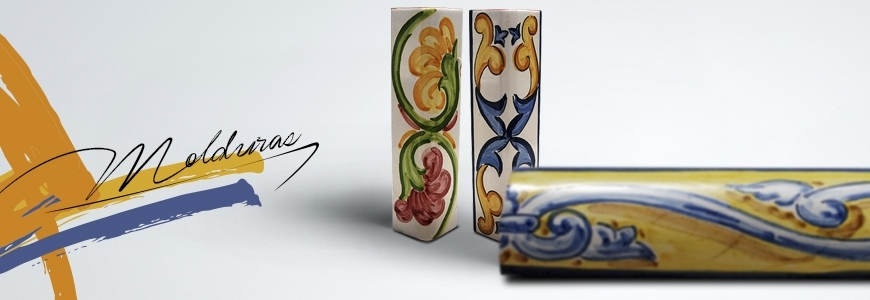 Molduras de cer mica cer mica art stica online for Listelos de ceramica