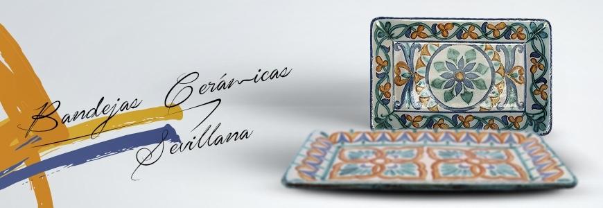 Bandejas de cer mica sevillana cer mica art stica online - Ceramica artistica sevillana ...