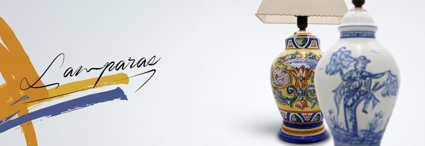 L mparas de cer mica cer mica art stica online - Lamparas de ceramica ...