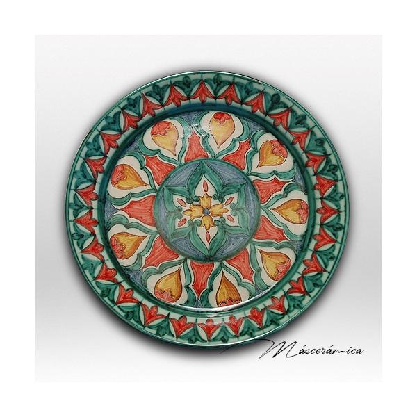 Plato de cer mica rabe alia - Platos de ceramica ...
