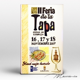 """Placa Cerámica """"Premios Ruta de la Tapa"""""""