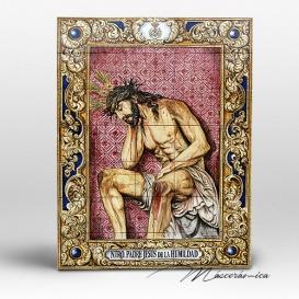 """Mural Cerámico """" Ntro. Padre Jesús de la Humildad """""""