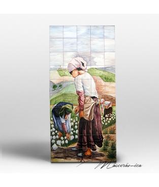 "Mural Cerámico ""Algodonera"""