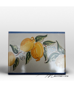 "Azulejo Artesanal "" Limones """