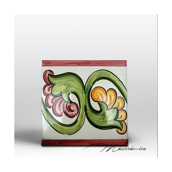 Azulejo artesanal cadiz cer mica art stica online for Azulejos cadiz