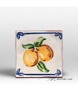 """Azulejo Rústico """"Orange"""""""
