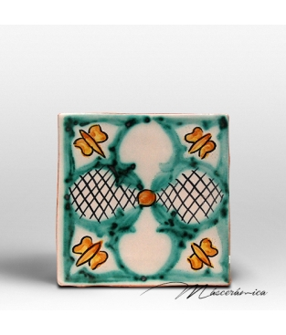 "Azulejo Rústico "" Mariposa """