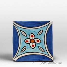 "Azulejo Rústico ""Clara"" Azul"