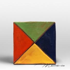 """Azulejo Rústico """" Colores """""""