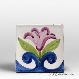 """Azulejo Rústico """" Tulipán """""""