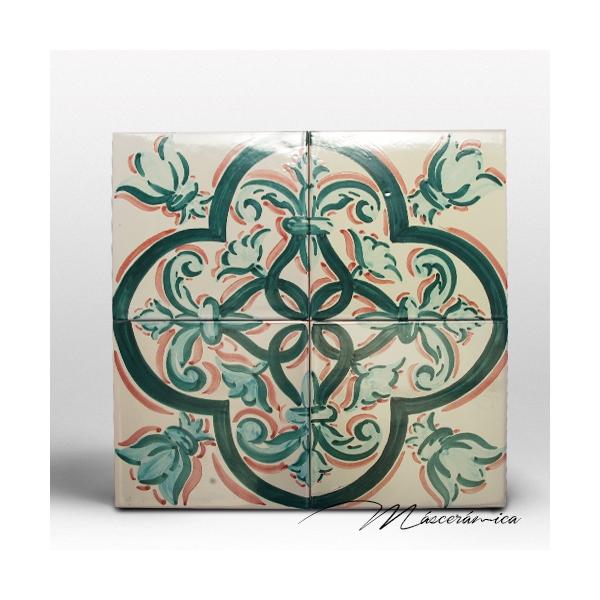 Z calo de cer mica artesanal mentha cer mica art stica for Zocalos de ceramica