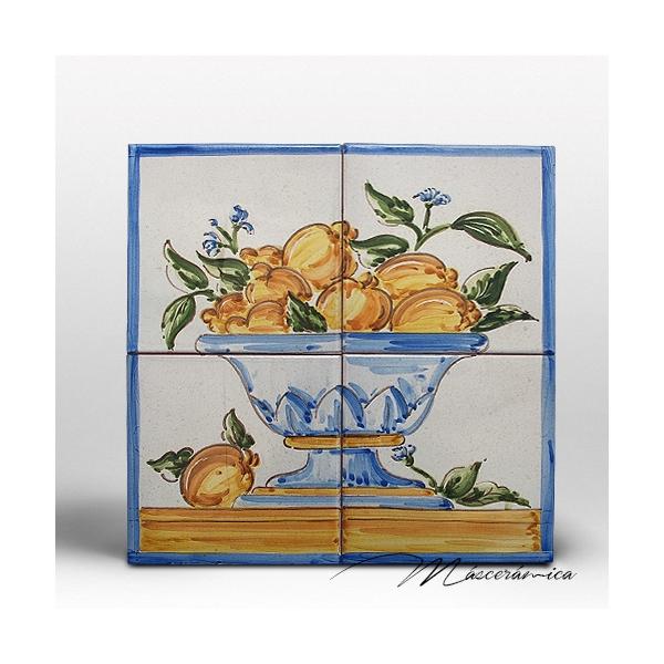 Z calo de cer mica artesanal citrus cer mica art stica for Zocalos de ceramica