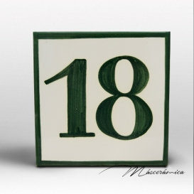 Número de Cerámica 18