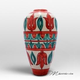 Florero Largo de cerámica Árabe