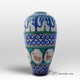 Florero Largo de cerámica Gótico Casia