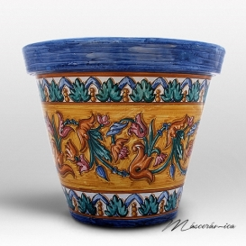 Macetas de cer mica cer mica art stica online Macetas ceramica online