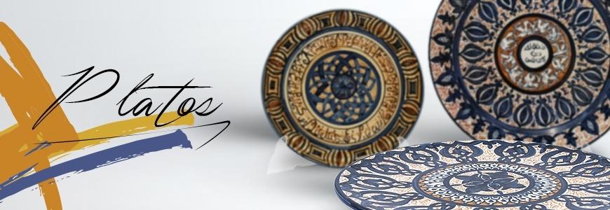 Platos de cer mica cer mica art stica online for Platos de ceramica